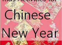 Chinese New Year / Ideas on how to celebrate Chinese New Year with your kids. Includes crafts, makes, books, gifts and printables