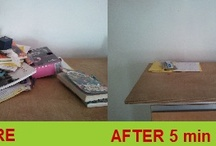 Before and After Photos / LessMess - not just for my customers!!!!