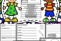 2. Sınıf / second grade activities