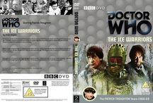 Doctor Who DVD covers