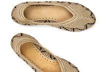 Вязаная обувь, носки