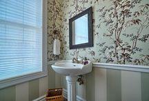 La salle de bain laissée pour compte