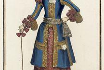 Historic Baroque Fashion Ladies