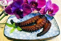 Wędzona ośmiornica/Smoked octopus