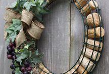 Corona con tappi di vinoespumante