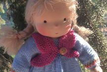 waldorf nuket ja pehmeät nuket, soft dolls