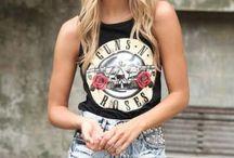 Rock n roll fashion
