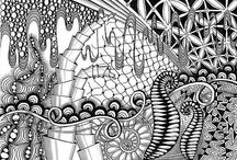 Zentangle5 / #art#zentangle