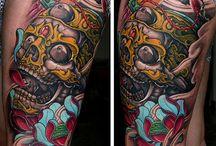 thigh tatts