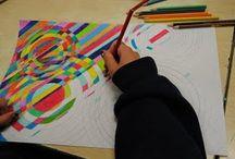 Rita mönster 1 färg