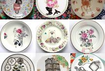 decor :: dishes / so many pretty dishes. / by Daughter Earth