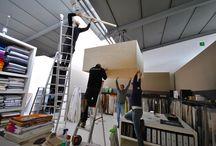 Lavori in corso da Bortoluzzi! / Elettricisti, cartongessisti, pittori … tutti al lavoro per dare un look rivoluzionario al nostro show-room! Stay Tuned!