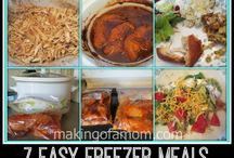 Recipes: Freezer Meals / by Michelle Duclos