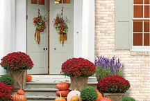 Front step decorating ideas