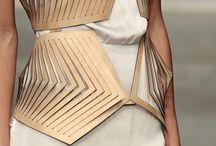 // MINIMALISM + AVANTE GARDE // / Avante Garde fashion with minimalist undertones