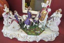 Porcelain Figural Groups