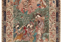 Pictorial carpets & rugs / In some Oriental carpets pictures of humans and animals are found. These motives are often excerpts from older stories that have fascinated the designer when creating the pattern for the carpet. Imagine the hard work behind some of them!