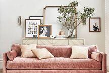 inspo | pastel living room
