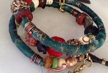 sari silk jewelry