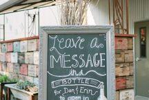 Wedding decorations / Decorations