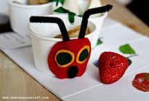 Bug Week / Virtual Book Club Summer Camp Bug Week Extra Activities, crafts, recipes and ideas