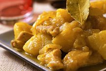 Volaille /  Curry poulet