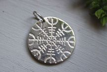 Celtic and Nordic pattern jewels / Celtic and nordic inspired rings, necklaces, earrings...