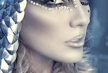 silver look / Make up