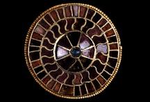 Merovingian, Frankish, Ostrogothic, Anglo Saxon, Longobardic