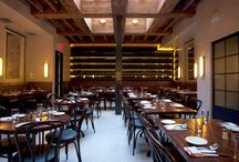 NYC Food / Favorite spots to wine and dine in NYC.