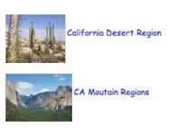 California Regions and Native Californians