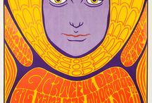 Psychedelic Posters / Psychedelic Posters / by ♫Lisa A
