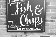 Hooked on Fish n' Chips / A tribute to a national dish. If this board doesn't make you hungry, we salute you!  http://magazine.enterprise.co.uk/open-road/headlights/britains-best-fish-chips-shop-experts