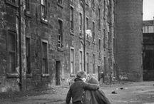 Glasgow black & white photography