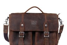 Men Vintage Messenger Bag / Original designed, fashion leather messenger bags for men.