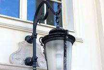 Кованый кронштейн для фонаря от компании Метал Мэйд. / Фонарь уличный /кронштейн для фонаря / художественная ковка