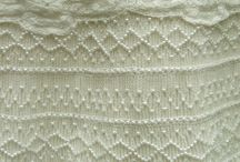 Lace linen smocking