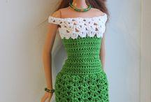 Barbie Örgü Giysi Modelleri