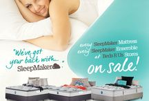 April 2017 / Beds R Us has got your BACK! With EVERY Sleepmaker on Sale.  Participating stores. HURRY