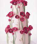 Wedding Cake Foral Embellishments