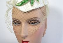 Jewelry Ring Fashion-vintage Hats / Fashion that never goes out of Style: Hats from members of The Jewelry Ring