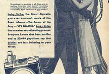 """Vintage Ads"" Strange to the Modern Eye / by Wesley Hightower"