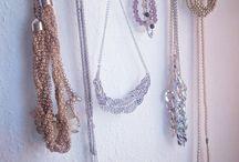 DIY home design / DIY jewellery wall hanger