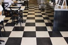 Loose lay installed by ELFloors / Beautiful luxury floors by ELFloors