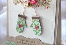 Christmas mittins cards / by Kathy Baird