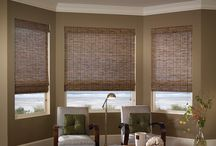 Natural Woven Wood Shades & Blinds / Stylish Woven Wood Shades & Blinds At Luxury Window Fashions Store