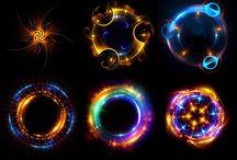 kolorowe symbole