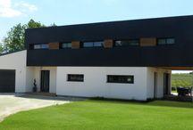 Construction maison ossature bois - Vivanbois / Construction maison ossature bois - Vivanbois