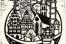 Printmaking & Painting / by Rebecca Bartee