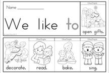 Learning Sight words activities